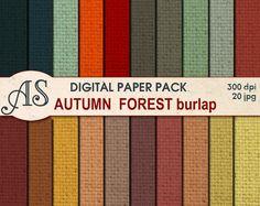 https://www.etsy.com/listing/205419403/digital-autumn-forest-color-burlap-paper