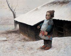 painting Luo Zhongli