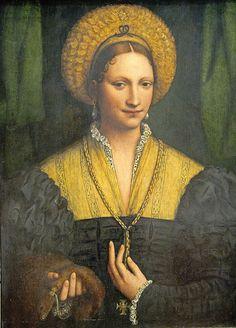 Bernardino Luini (artist) Italian, c. 1480 - 1532 Portrait of a Lady, 1520/1525. NGA, Washington, DC #TuscanyAgriturismoGiratola