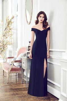 425dda90190 Dessy Collection Style 3012 in Midnight - https   dessy.com dresses