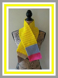 Connie's Spot© Crocheting, Crafting, Creating!: Free Back to School Scarves & Pencil Bag Pattern©