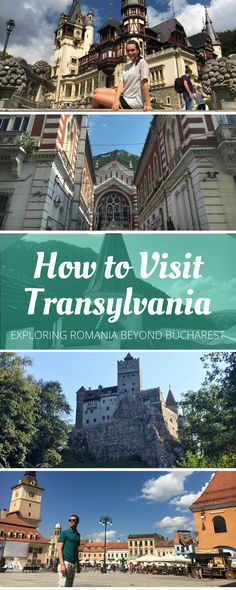 If you're going to Romania, you need to see the countryside! A trip to Transylvania allows you to see Peleș & Bran Castles, and the town of Brașov.