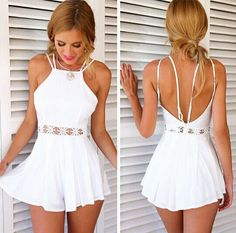 Macacao Feminino 2015 Rompers Womens Jumpsuit Summer Style Waist Lace Hollow out Bodysuit Wave White Playsuit Vestidos Cortos - http://www.aliexpress.com/item/Macacao-Feminino-2015-Rompers-Womens-Jumpsuit-Summer-Style-Waist-Lace-Hollow-out-Bodysuit-Wave-White-Playsuit-Vestidos-Cortos/32340702022.html
