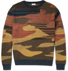 This multicoloured sweater from <a href='http://www.mrporter.com/mens/Designers/Dries_Van_Noten'>Dries Van Noten</a> seamlessly fuses the brand's trademark avant-garde aesthetic with a laid-back appeal. It's been knitted in Belgium and is blended with touches of cashmere, alpaca, linen and silk for a sumptuous yet tactile handle.