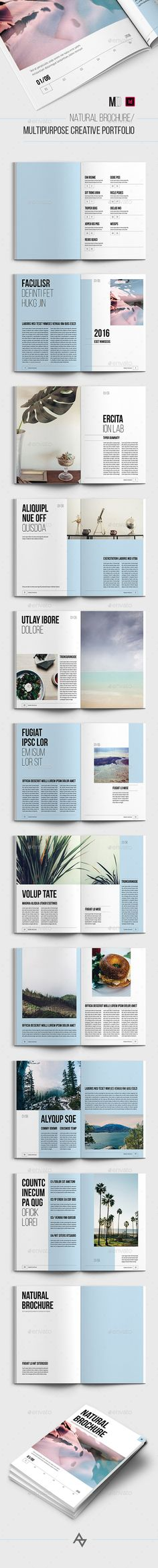 Natural brochure / Multipurpose Creative Portfolio More
