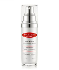 Angelique Monet AntiAging Eye Area Serum with Peptides Plant Stem Cells Ascorbic Vitamin C 1 oz -- Find out more about the great product at the image link. (Note:Amazon affiliate link) #SkinCare
