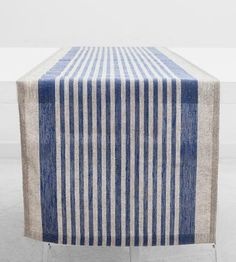 Striped Linen Table Runner by Objective on Scoutmob Shoppe