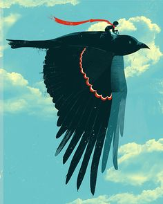 Bird in flight by Jay fleck
