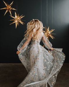 sparkly wedding gown is part of Star dress - Pretty Dresses, Beautiful Dresses, Sparkly Wedding Gowns, Green Wedding Shoes, Prom Dresses, Formal Dresses, Wedding Dresses, Gown Wedding, Bridesmaid Dress