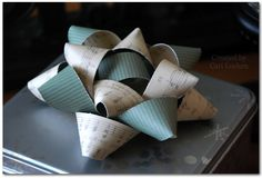 Cari Locken: Helmar & Simple Stories wrapping bow tutorial