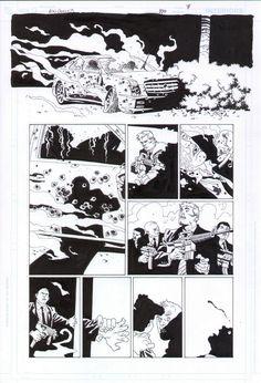 100 Bullets #100 page 7 - Eduardo Risso Comic Art