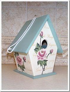 tilda birdhouse -