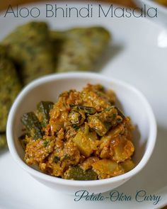 Aloo Bhindi Masala is an easy recipe which is a perfect side dish for chapati , roti.