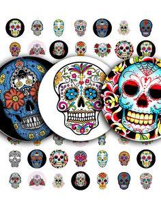 Día de los muertos... Dia de Los Muertos... Tatuajes de por ArtDeco