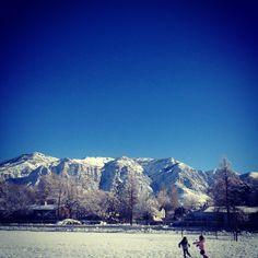 Ogden, Utah. Mountains, my home