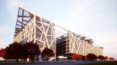 International Data Center  - IDC Building in China