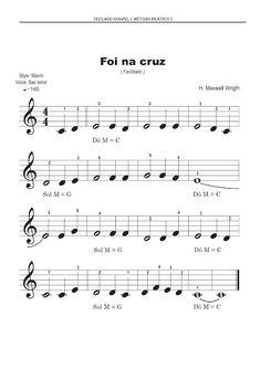 Adriano Dozol - Dicas, Partituras Grátis e Vídeos - Teclado   Piano: Foi na Cruz (Conversão) - Harpa Cristã - Partitura para Teclado