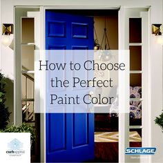 Choosing an exterior paint color doesn't have to be scary! Here's how to do it with confidence. #CurbAppealContest