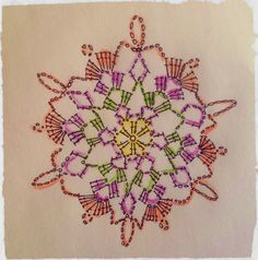 another crochet snowflake diagramm and many more on woollen thoughts