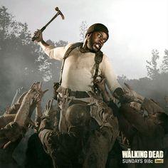 Tyrese. The Walking Dead