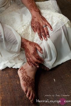 Persian Gulf henna patterns by Darcy Vasudev