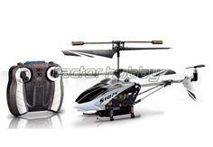SYMA S107C - Helicóptero de radiocontrol con cámara de fotos y video. Obtiene una notable calidad de imagen y la cámara se activa desde el propio mando.  En www.factorhobby.com