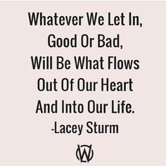 Lacey Sturm-- I know I'm posting a whole bunch of her quotes, but they're just SO GOOD!