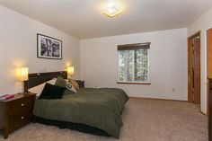 Spacious Master bedroom, complete with two closets and an adjoining bathroom!