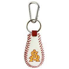 Arizona State Sun Devils Classic Baseball Keychain