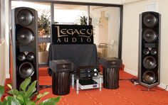 The Legacy V system, featuring the new Wavelet processor, at T.H.E. Show Newport 2015.