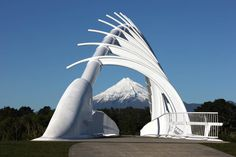 Te Rewa Rewa Bridge. Very cool
