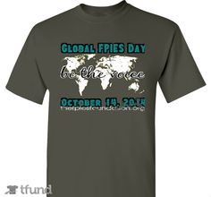 Check out Global FPIES Day fundraiser t-shirt. Buy one & share it to help support the campaign!