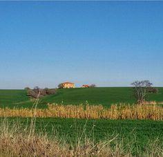 Tuscan landscape by @linda62petrillo