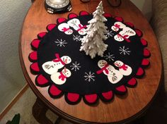 BFF Best Flakes Forever Holiday Table mat by DreamCatchinQuilts, $8.50