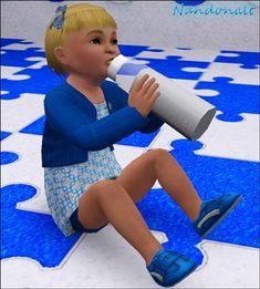 Nandonalt@MTS - Transparent Baby Bottle #Sims3