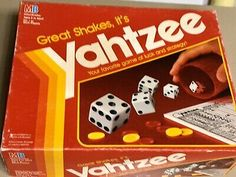 Feb work at the coffee shop can be pretty slow at times. To keep busy we played Yahtzee! I hadn't played in years. It was a fun time with coworkers. Yahtzee Game, Dice Games, Trivia Games, Fun Games, Games To Play, Childhood Games, Childhood Memories, Bridge Card Game, Gaming
