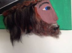 canvas acrylic painting original painting mixed media
