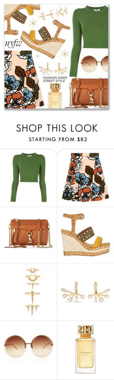 """""""NYFW Street Style: Day One"""" by dressedbyrose ❤ liked on Polyvore featuring Opening Ceremony, Paul & Joe Sister, Rebecca Minkoff, Lanvin, Luv Aj, Elizabeth and James, Linda Farrow, Tory Burch, NYFW and nyfwstreetstyle"""