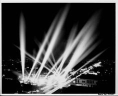 """Los Angeles night lights :: """"Dick"""" Whittington Photography Collection, 1924-1987"""