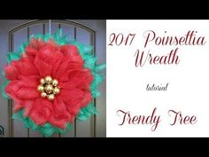 Here is an example of the wreath with wide foil mesh instead of fabric mesh (balls in this image are 70 mm size and we used three ball ties. The current Mesh Wreath Tutorial, Diy Wreath, Christmas Crafts For Kids To Make, Xmas Crafts, Christmas Wreaths To Make, Christmas Decorations, Christmas 2019, Wreath Making Supplies, Poinsettia Wreath