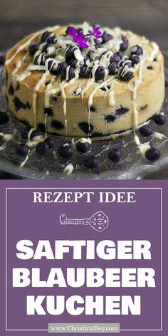 Rezept Idee für Kuchen Liebhaber - Feiner & mega saftiger Blaubberkuchen mit weißer Schokolade - Der leckerste Kuchen der Welt! Jetzt entdecken auf CHRISTINA KEY - dem Fotografie, Blogger Tipps, Rezepte, Mode und DIY Blog aus Berlin, Deutschland