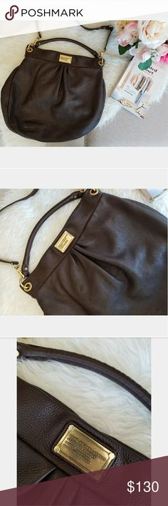 Marc by Marc Jacobs Classic Q Hillier Hobo Bag Marc by Marc Jacobs Classic Q Hillier Hobo bag in brown. Excellent condition! Inside has minor wear as shown in photos. Has been used previously. Marc By Marc Jacobs Bags