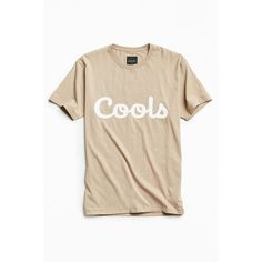Barney Cools Cools Tee ($39) ❤ liked on Polyvore featuring men's fashion, men's clothing, men's shirts, men's t-shirts, mens cotton shirts, mens cotton t shirts, mens crew neck t shirts, j crew mens shirts and mens graphic t shirts