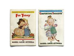 1920 Two Golden Thoughts Booklets Mabel Lucie by ReadAllOver5, $120.00