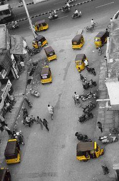 AutoRickshaws, Hyderabad, India