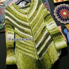 Find the best shirt for ladies who exactly courageous the aspects. Easy Crochet, Knit Crochet, Crochet Poncho Patterns, Crochet Blouse, Crochet Clothes, Clothing Patterns, Clothes For Women, Instagram, Search