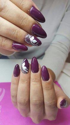 Viola glitter argento fiori