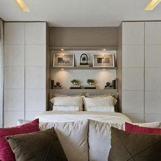Ideia para quem tem pouco espaço e precisa de armário.