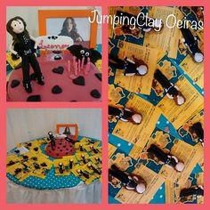 A mega festa da Leonor foi na JumpingClay Oeiras