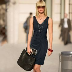 Geknoopte korte jurk